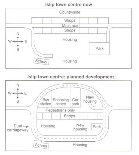 Islip map