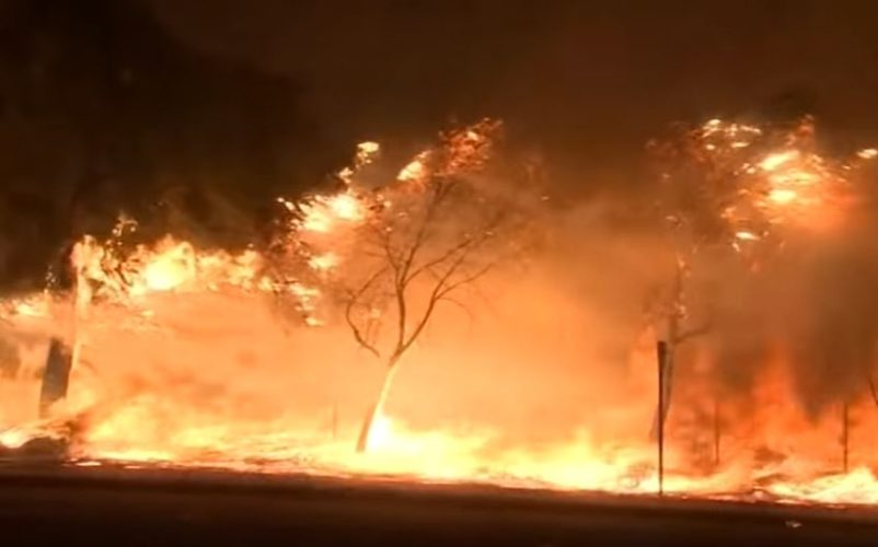 California-Wildfire-Los-Angeles-Oct-11-2019-YouTube-screen-grab-802x500