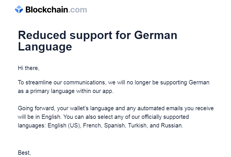 reduced_support_for_german_language